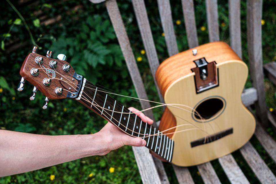 Airstream's Austin Journey guitar.