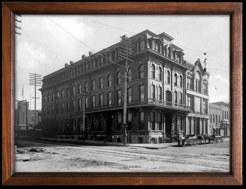Historic photo of the Denver Inter-Ocean Hotel