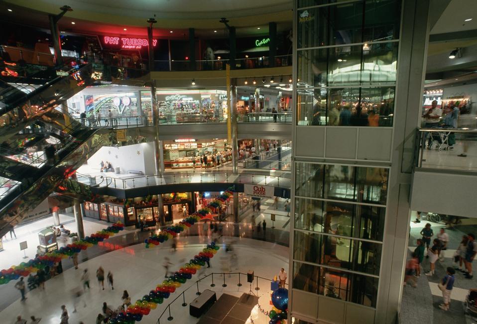 Interior of the Mall of America
