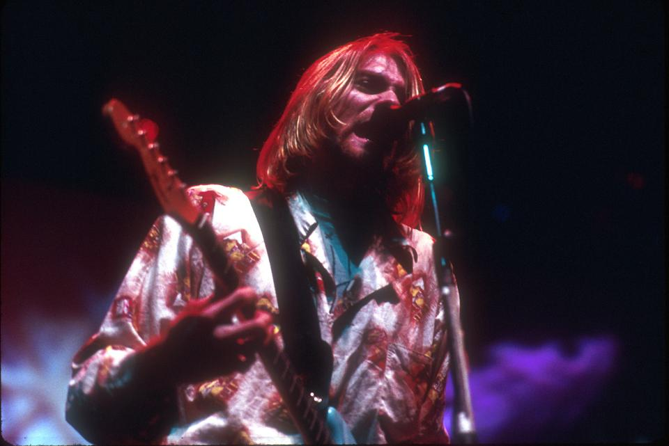 Nirvana's Kurt Cobain 1992