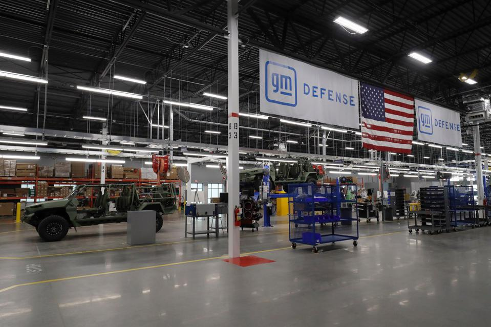 GM Defense's new ISV production facility in Concord, NC was built out in about 4 months.