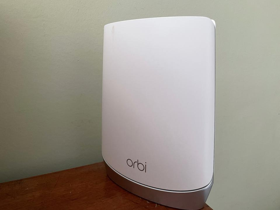Orbi Router Unit in Upstairs Room