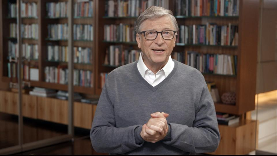 Bill Gates At A Concert For COVID-19 Relief