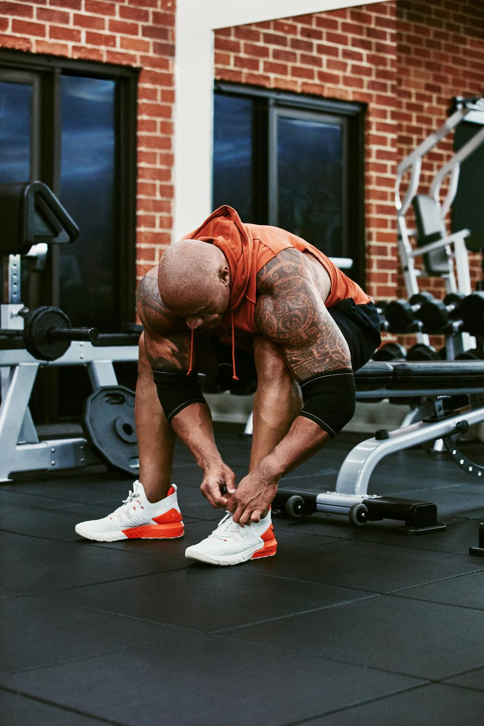 Dwayne ″The Rock″ Johnson's Project Rock collaboration with Under Armour