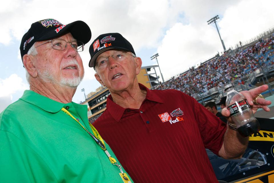 Norm Miller and Joe Gibbs