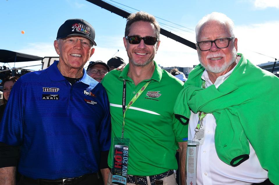 Joe Gibbs, Scott and Norm Miller