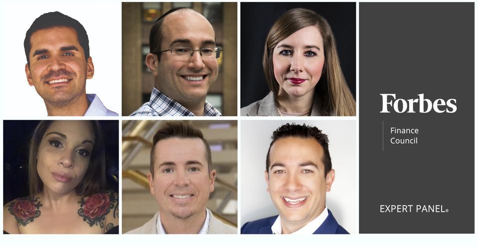 Photos des membres du Forbes Finance Council.