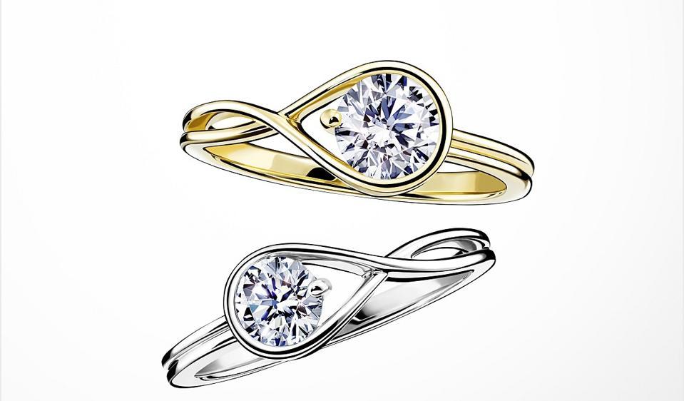 Pandora Brilliance lab-grown diamond collection ring