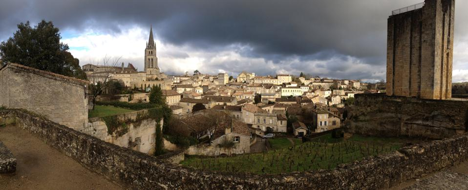 Winter in Saint-Emilion, Bordeaux, France