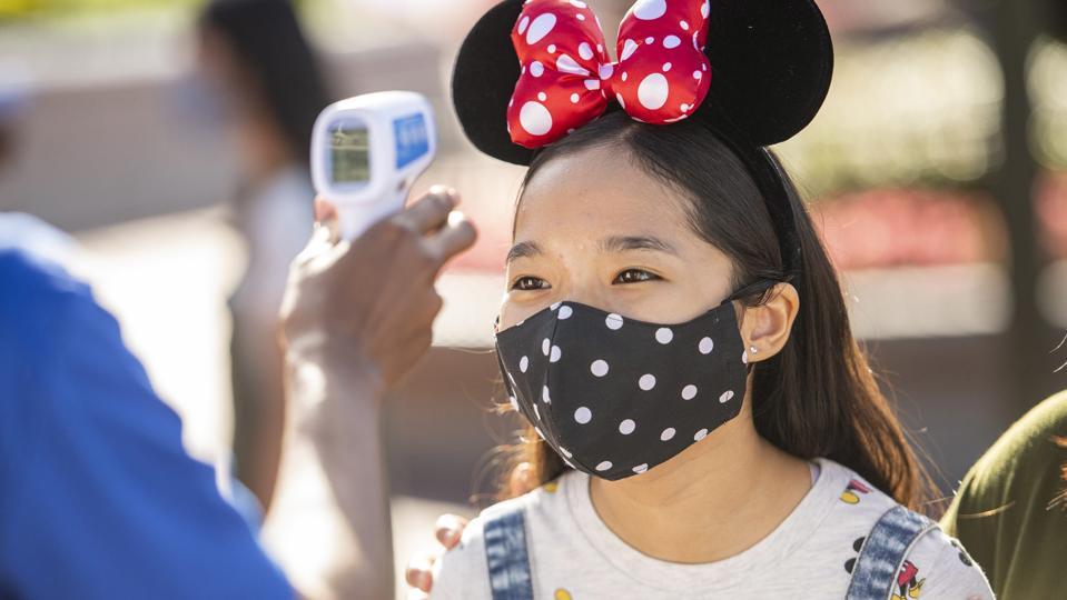 Walt Disney World Resort temperature check