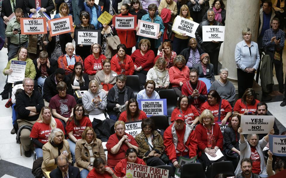 Public Schools Rally