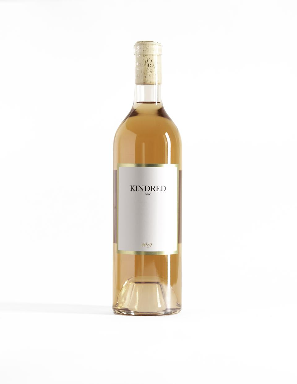 Friendship led to the creation of this rosé.
