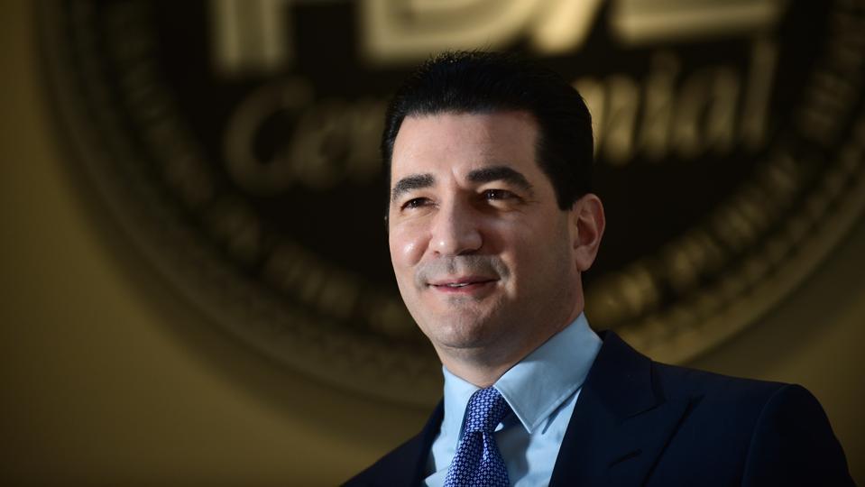 WHITE OAK, MD  - NOVEMBER 5: Scott Gottlieb, commissioner of th