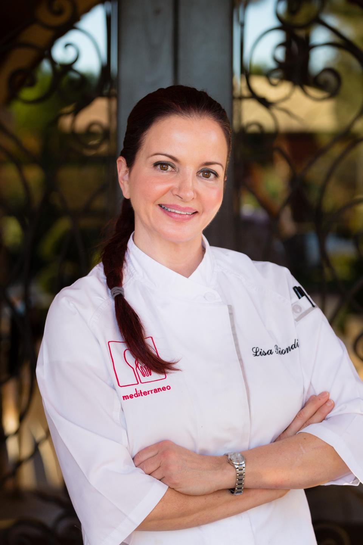 Executive Chef, Lisa Bondi.