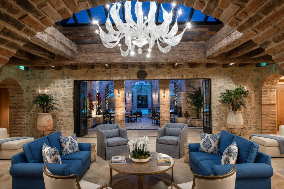 Inside the multi-million dollar Murano Lounge inside Spa Realis.