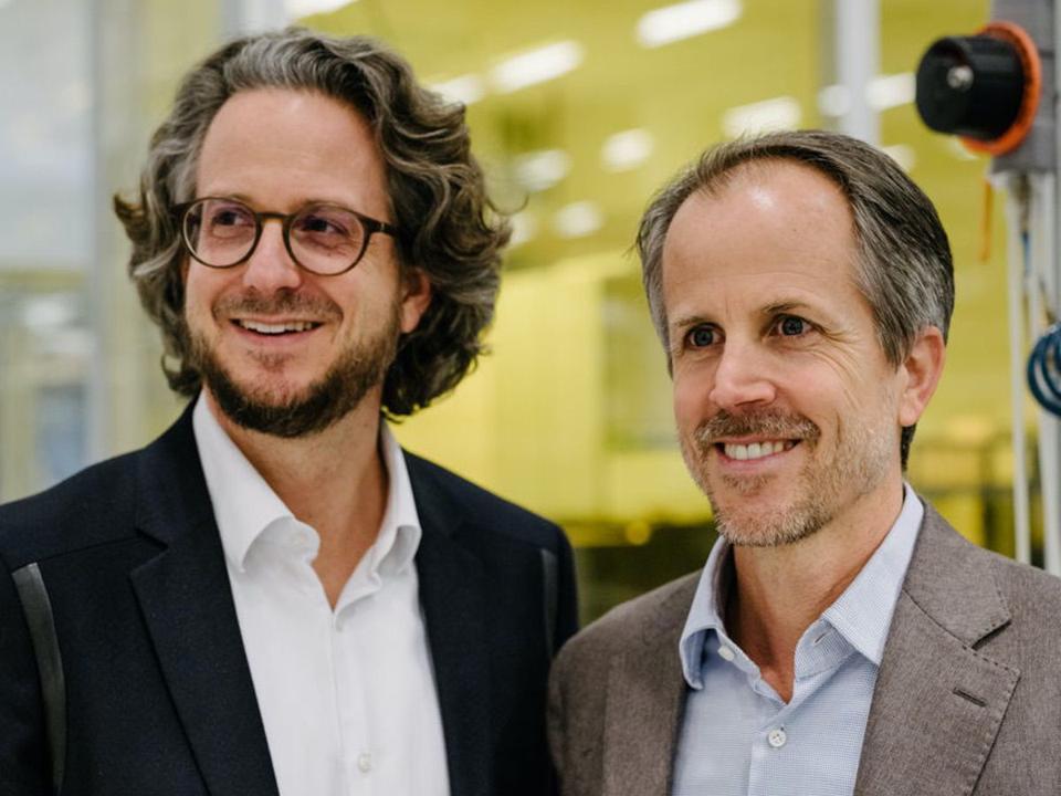 Daniel and Dr Andreas Sennheiser