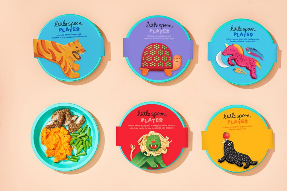 Little Spoon's children's food line, Plates, brought to market a super high-quality product under $5/meal.