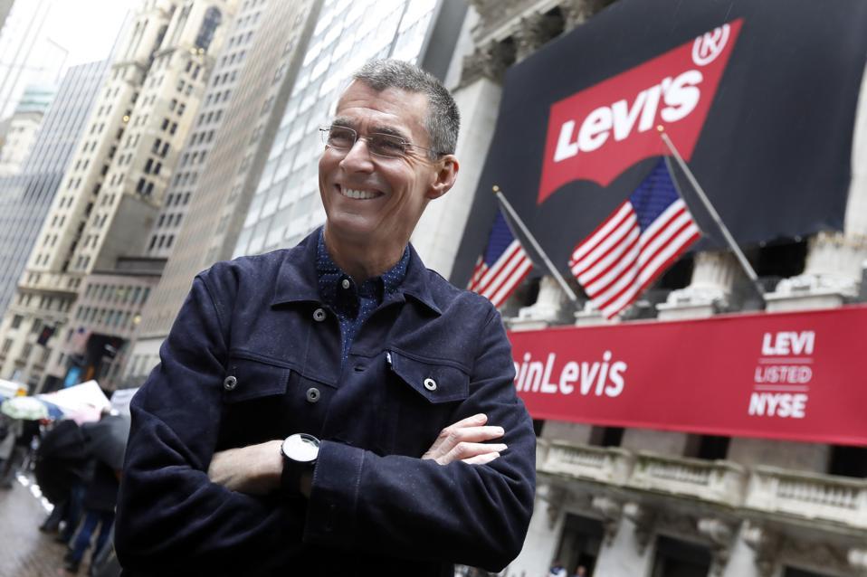 Financial Markets Wall Street Levi Strauss IPO