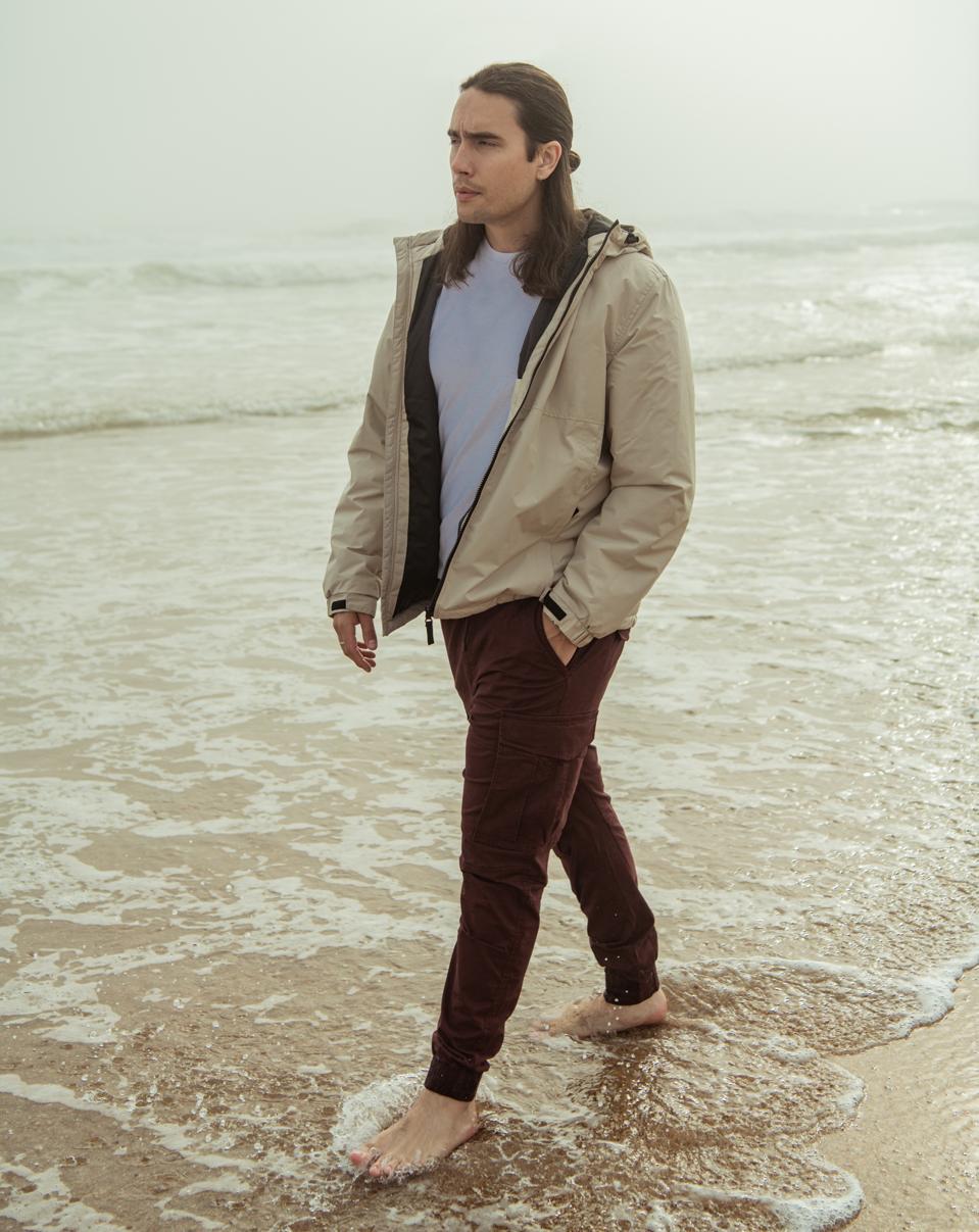 Daniel Jude wears H&M Spring/Summer 2021 Collection