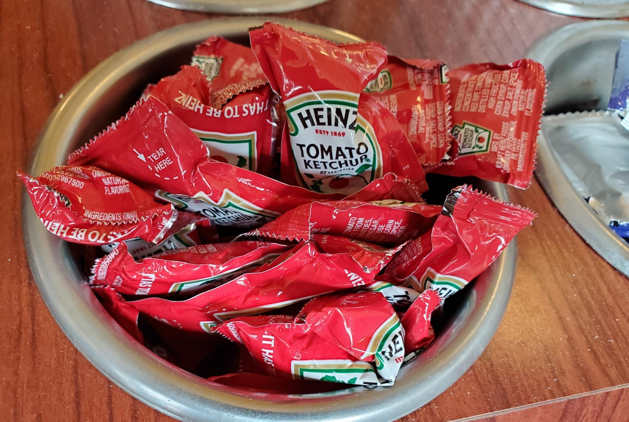 Heinz Ketchup Packets