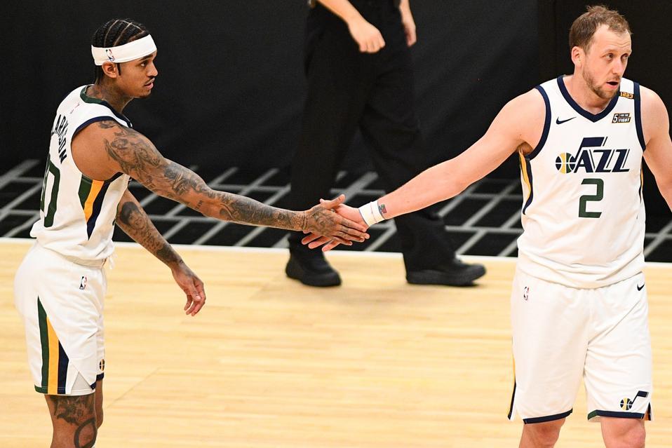 NBA: FEB 19 Jazz at Clippers
