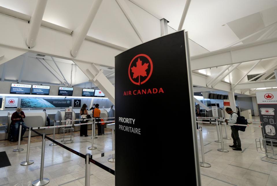 Air Canada reports major losses due to Covid