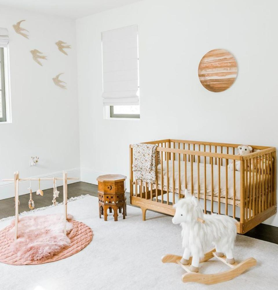 The baby bedroom of Ashley Tisdale