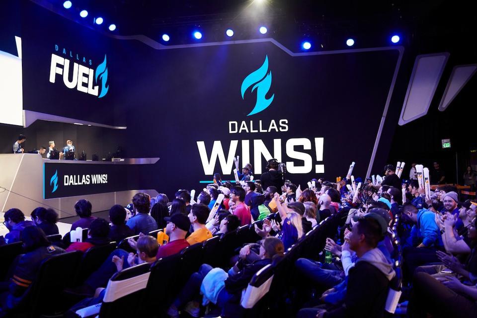 Overwatch League team Dallas Fuel