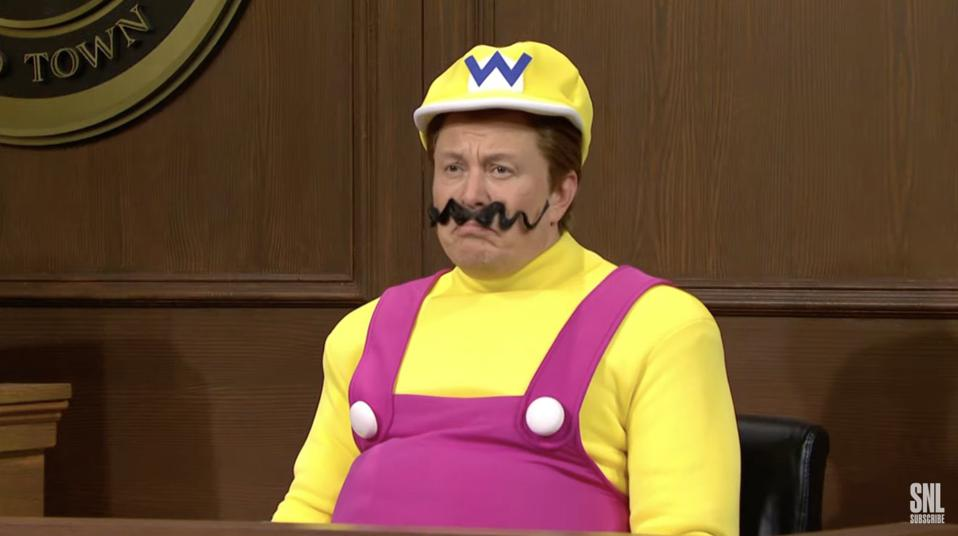 Here's Elon Musk's The Trial Of Wario SNL Skit