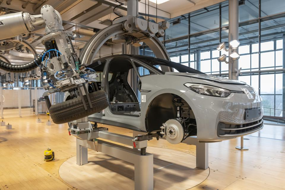 Start of production of the VW ID.3