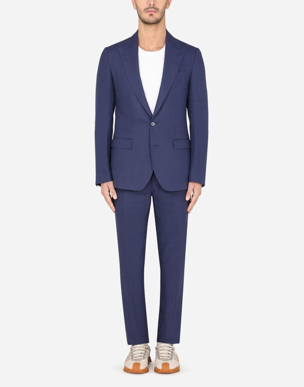 Dolce&Gabbana linen Taormina-fit suit