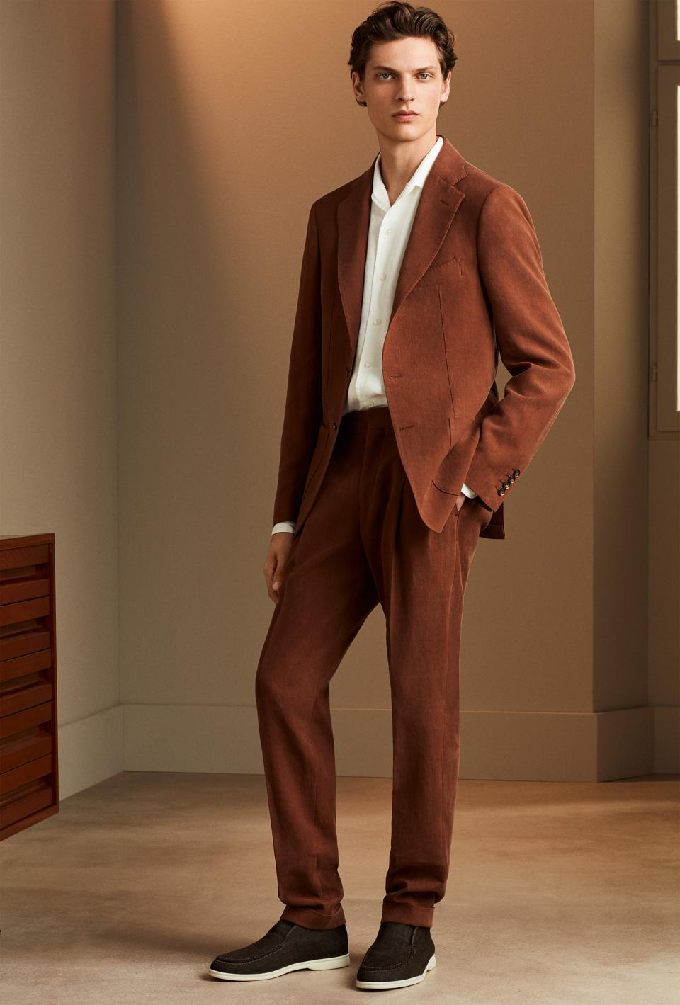 The Effortless Summer Linen Suit: Madrid Jacket and Two Pieces Trouser