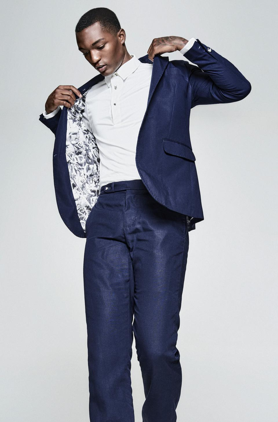 Lightweight Navy Suit