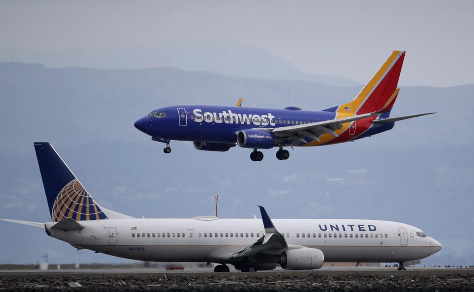 Airlines benefit as the economy re-opens