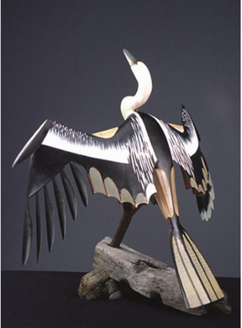 Brad Story, 'Anhinga,' 2011. Wood, Epoxy, Fiberglass and Found Objects. Collection of Mollie and John Byrnes.