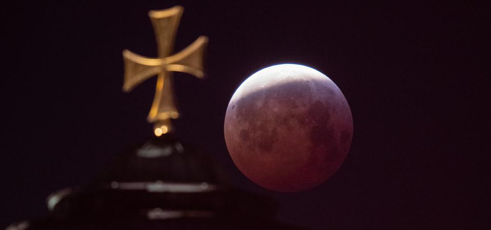 A partial lunar eclipse can be a stunning sight if it's almost total.