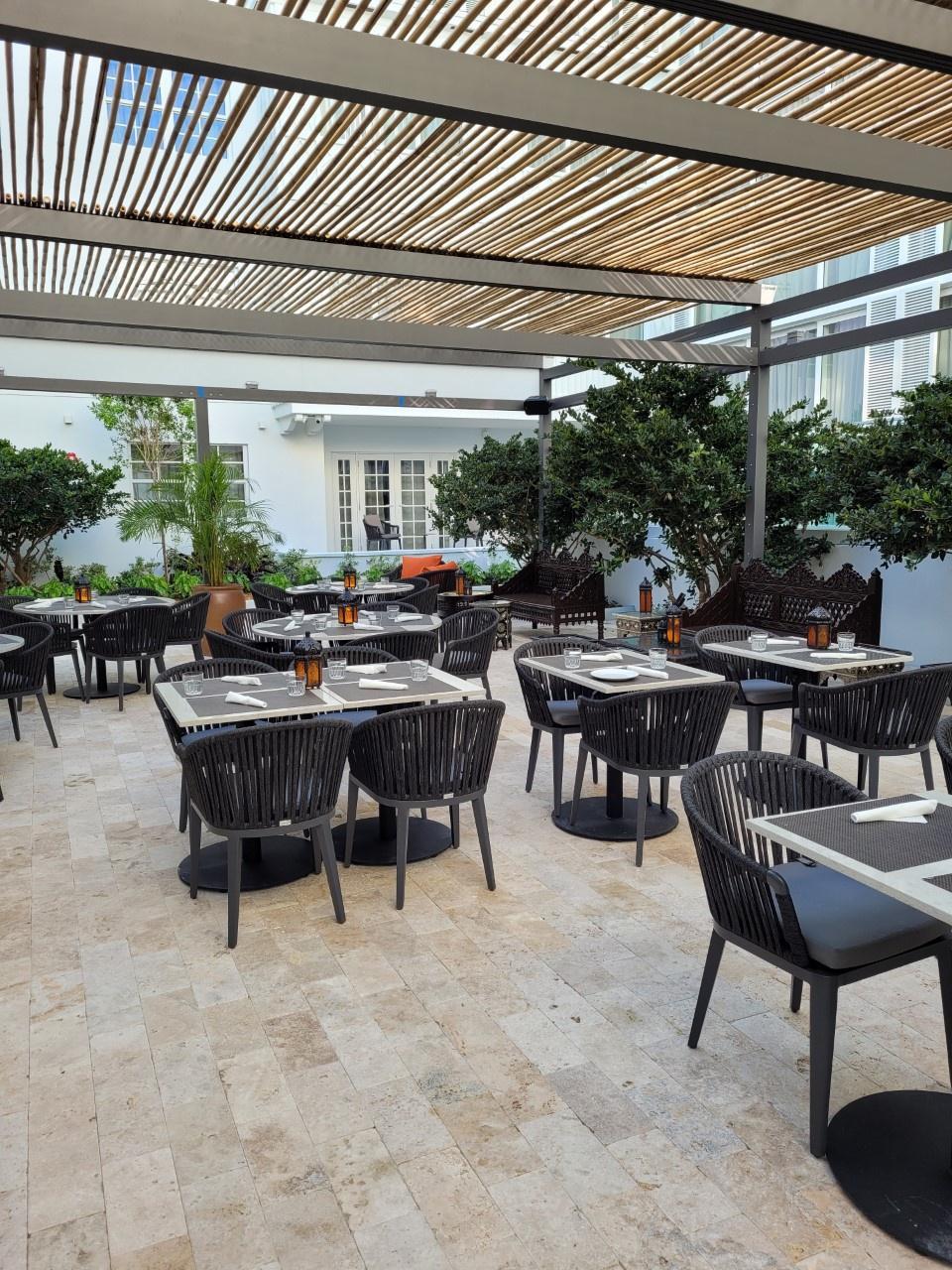 El desayuno se sirve en el Berkeley Park Hotel.