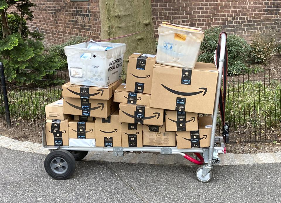 Amazon spending big to take on UPS and FedEx delivery