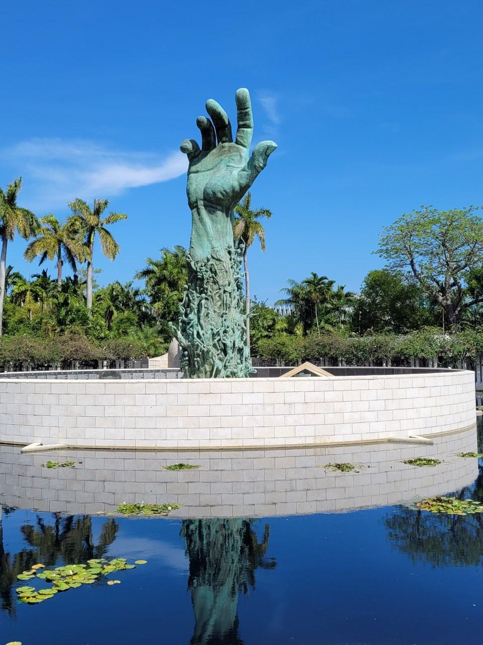 El memorial del Holocausto Miami Beach