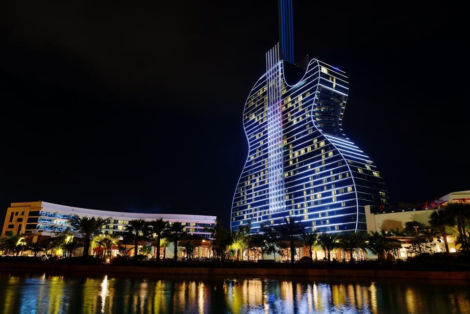 The Seminole Hard Rock Hotel & Casino Hollywood in Florida.