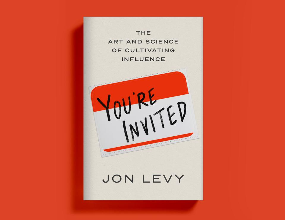 The cover of Jon Levy's new book, You're Invited