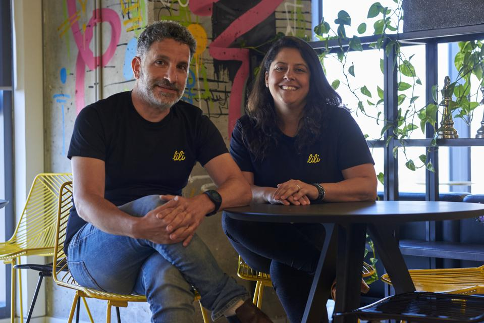 """Digital banking app Lili's cofounders Lilac Bar David (right) and Liran Zelkha (left) are what Group 11 Founding Partner Dovi Frances calls ″the OGs of the digital banking industry."""""""
