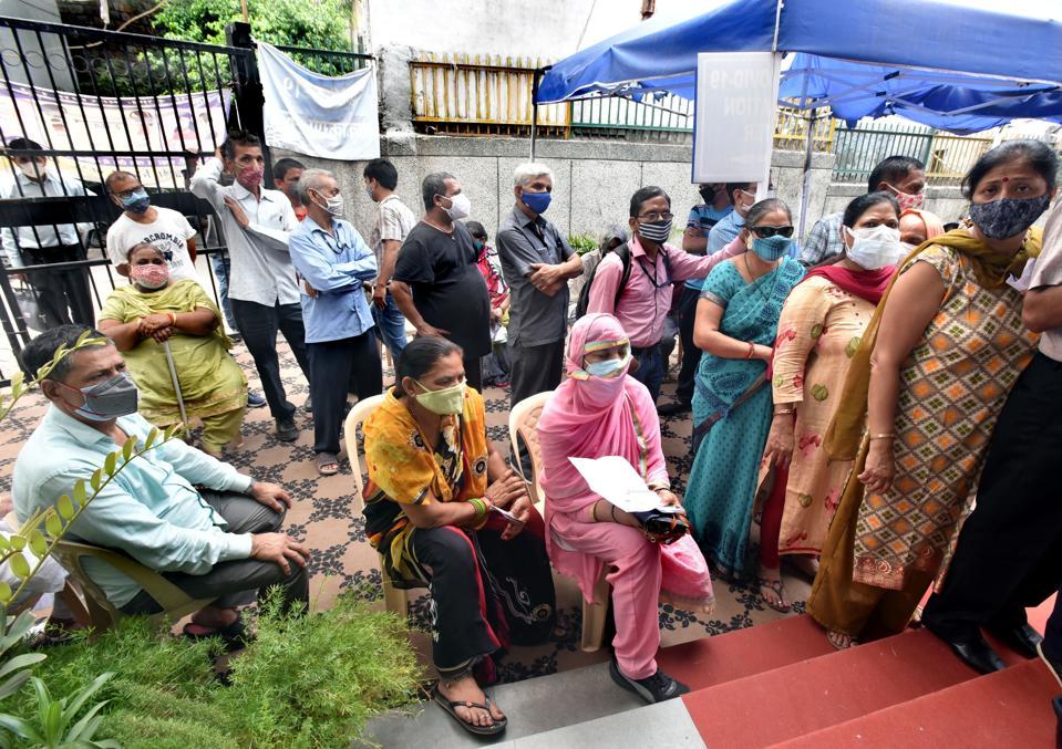 Covid Vaccination Drive In Delhi