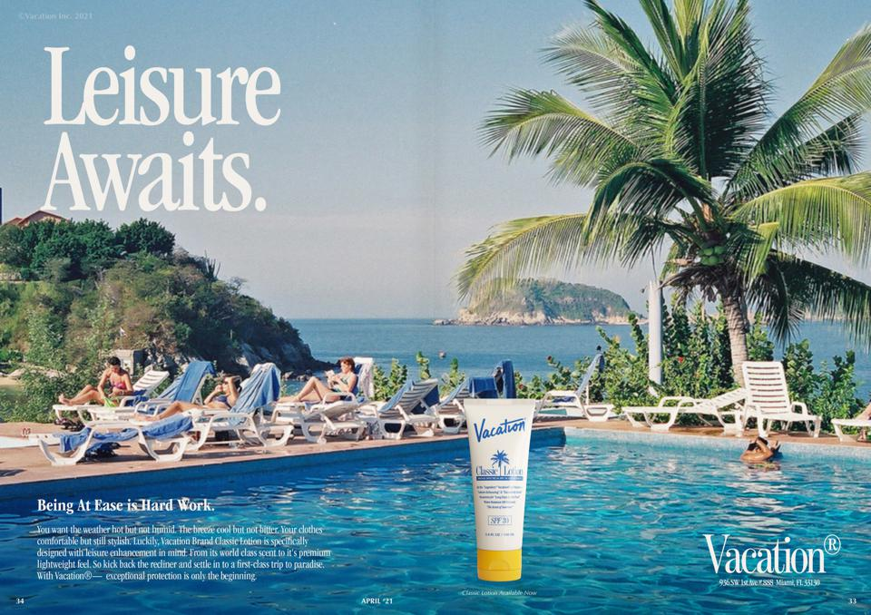 Vacation by Poolside FM Classic Lotion SPF 30
