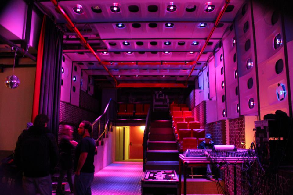 the inside of WORM, the venue in Rotterdam