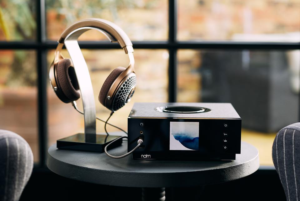 Naim Uniti Atom Headphone Edition and a a pair of Focal headphones