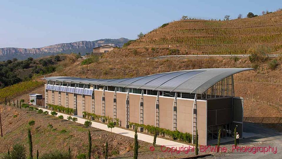 The Mas Igneus winery in Priorat near Gratallops, Catalonia