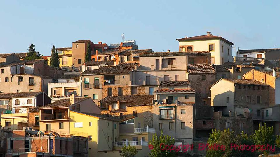 Houses in the town of Gratallops in Priorat