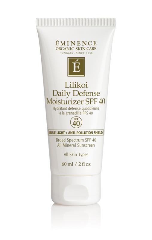 Éminence Organic Skin Care Lilikoi Daily Defense Moisturizer SPF 40