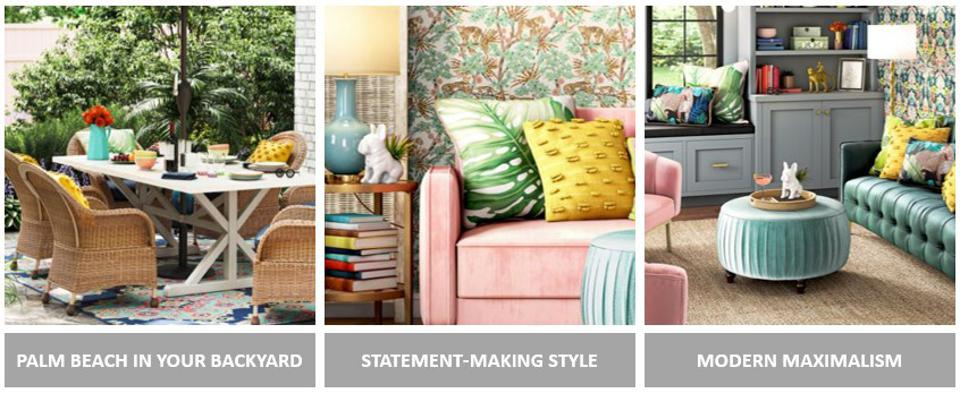 Iris gives Lowe's customers permission to have fun with color as they express their style.